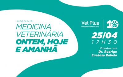Vet Plus comemora 10 anos com palestra gratuita de Rodrigo Cardoso Rabelo